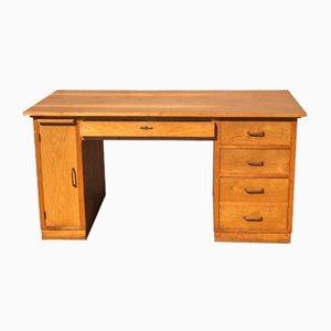 Vintage Oak Desk, 1950s