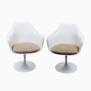Chaises Pivotantes Tulipe par Eero Saarinen pour Knoll Inc. / Knoll International, 1960s, Set de 2