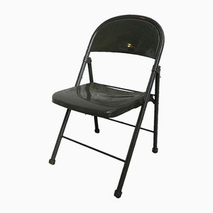 Vintage Industrial Folding Chair from American Seating Company, 1950s