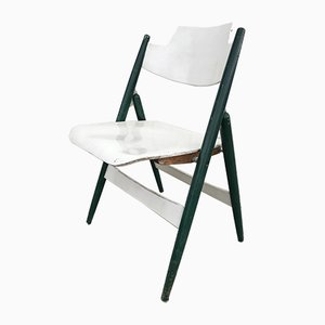 Model SE18 Folding Chair by Egon Eiermann for Wilde+Spieth, 1950s