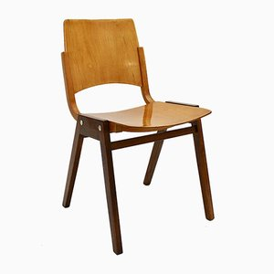 Vintage Model P7 Dining Chairs by Roland Rainer for Pollak, 1950s, Set of 4