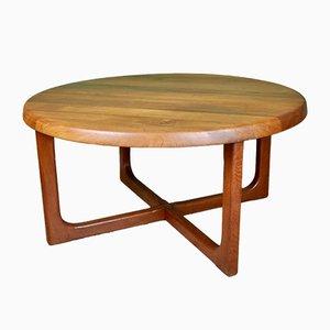 Tavolino in teak di Niels Bach, anni '60