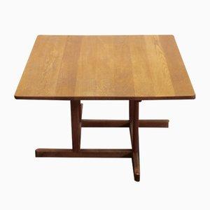 Tavolino da caffè nr. 271 in legno di quercia massiccio di Børge Mogensen per Fredericia, anni '60