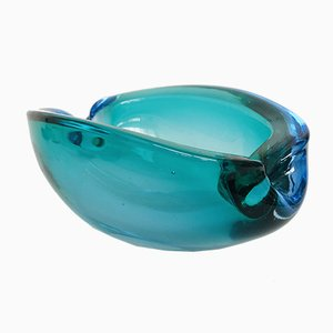 Murano Glass Ashtray from Seguso, 1970s