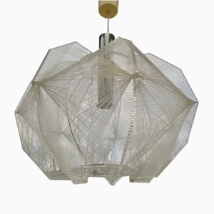 Deckenlampe aus Plexiglas & Nylon von Paul Secon für Sompex, 1960er