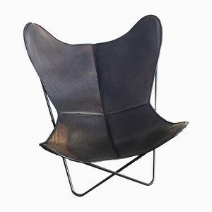 Vintage Butterfly Club Chair by Ferrari-Hardoy for Knoll USA