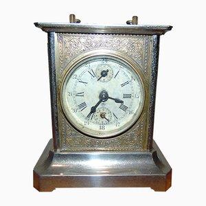 Antique Brass Alarm Clock from Junghans