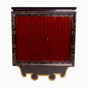 Art Deco French Cabinet, 1930s