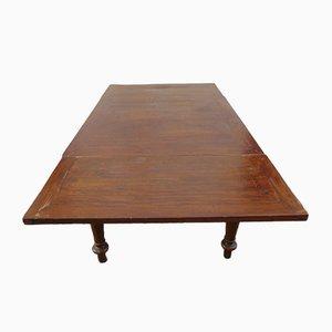 Tavolo da pranzo rustico vintage, anni '30