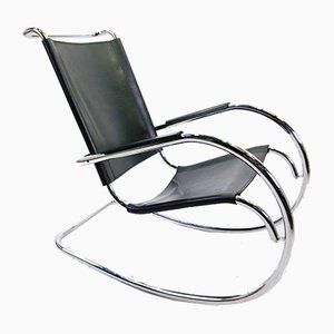 Mid-Century Italian Rocking Chair from Fasem
