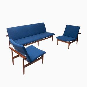 Japan Lounge Set von Finn Juhl für France & Søn / France & Daverkosen, 1950er
