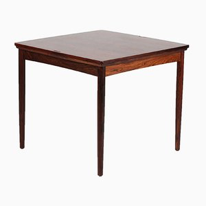 Rosewood and Green Felt No. 24 Game Table by Carlo Jensen for Poul Hundevad, 1960s