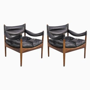 Lounge Chairs by Kristian Vedel for Søren Willadsen Møbelfabrik, 1960s, Set of 2
