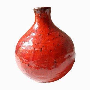 Rote Vase, 1960er