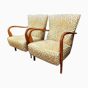 Vintage Sessel von Carlo Mollino, 1950er, 2er Set