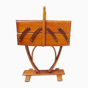 Mesa de costura francesa Art Déco, años 30