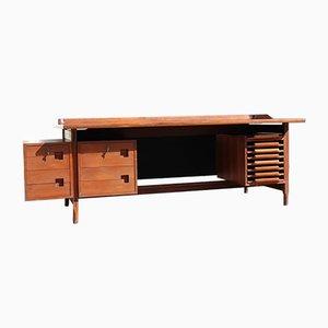 Schreibtisch aus Teak von Vittorio Dassi für Dassi, 1950er