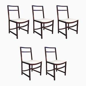 Esszimmerstühle aus Palisander von Renato Venturi für MIM Roma, 1960er, 6er Set
