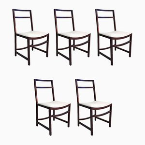 Rosewood Dining Chairs by Renato Venturi for MIM Roma, 1960s, Set of 6