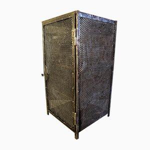Mobiletto in metallo di Otto Kind, anni '20
