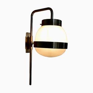 Verstellbare Wandlampe von Sergio Mazza für Artemide, 1960er
