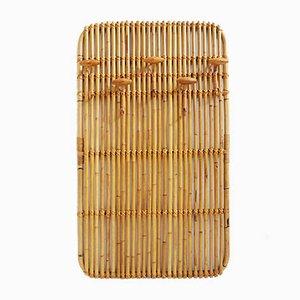 Appendiabiti da parete in bambù, Italia, anni '60