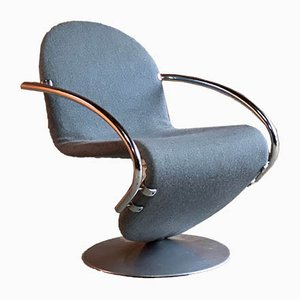 123 Lounge Chair by Verner Panton for Fritz Hansen, 1974