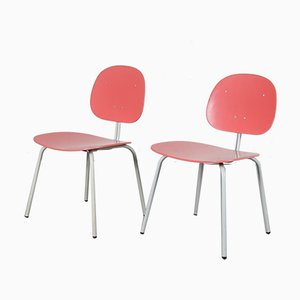 Mid-Century Dutch Side Chairs from Auping, Set of 2