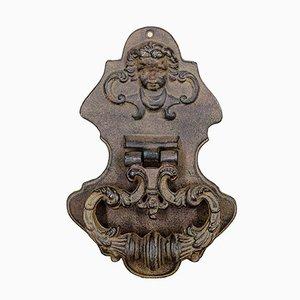 Antiker Türklopfer aus Gusseisen