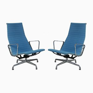 EA124 Lounge Chair by Charles & Ray Eames for Vitra, 2000s