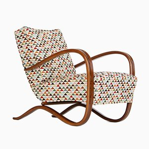 Vintage Lounge Chair by Jindřich Halabala for Spojene UP Zavody