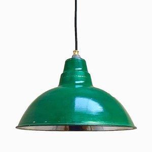 Lampe à Suspension Industrielle en Aluminium, années 70