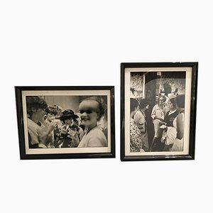 Coco Chanel Fotografien, 1960er, 2er Set