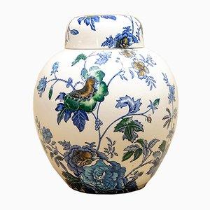 Tetera Art Déco de cerámica de Mason's, años 20