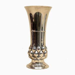Vase Argenté d'Époque d'Orivit AG