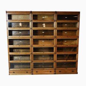 Large Antique Oak Cabinet by Globe Wernicke
