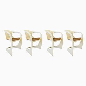 Esszimmerstühle von Alexander Begge für Casala, 1970er, 4er Set