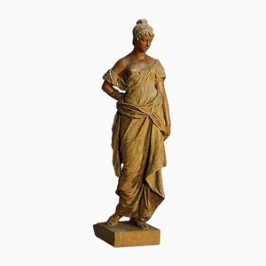 Escultura antigua de Goldscheider