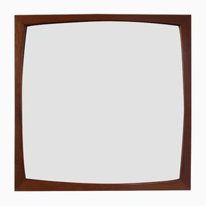 Espejo de teca de Aksel Kjersgaard, años 50