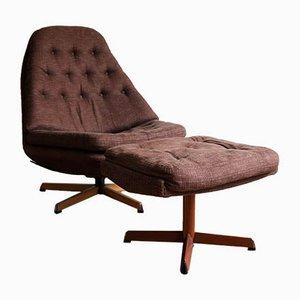 Swivel Chairs by Madsen & Schübel for Bovenkamp, 1970s, Set of 2