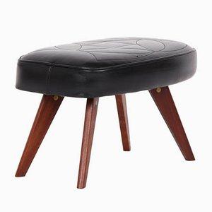 Vintage Danish Teak Footstool