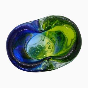 Glass Vase by Hospodka for Chribska Sklarna, 1960s