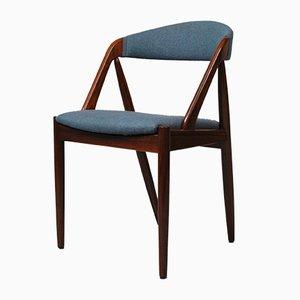 Chaise de Salon 31 en Palissandre par Kai Kristiansen pour Schou Andersen, années 60