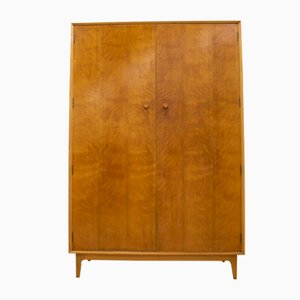 Walnut Wardrobe by Gimson & Slater for Vesper, 1960s