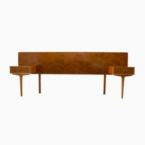 Nachttisch aus Teak von Gimson & Slater für Vesper, 1960er