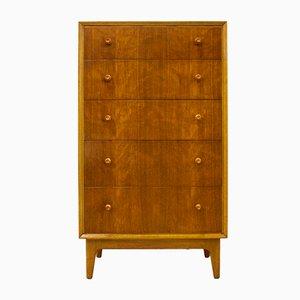 Mid-Century Teak & Walnut Veneer Dresser by Gimson & Slater for Vesper