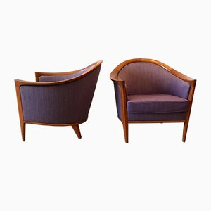 Club Chairs by Bertil Fridhagen for Bodafors, 1960s, Set of 2