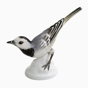 Mid-Century Porcelain Bird Sculpture from Gerold Porzellan