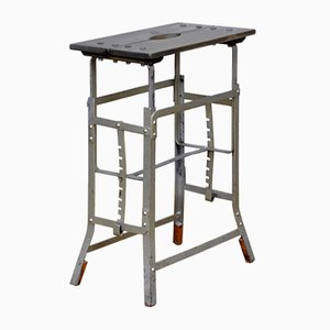 Industrial Work Stool, 1950s