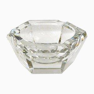 Mid-Century Crystal Ashtray from Val Saint Lambert